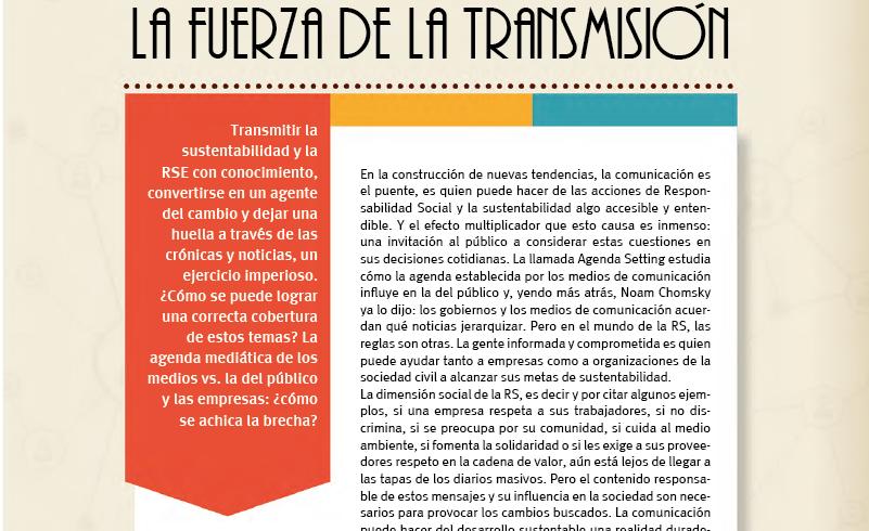 La fuerza de la transmisión – Nota Revista Fonres